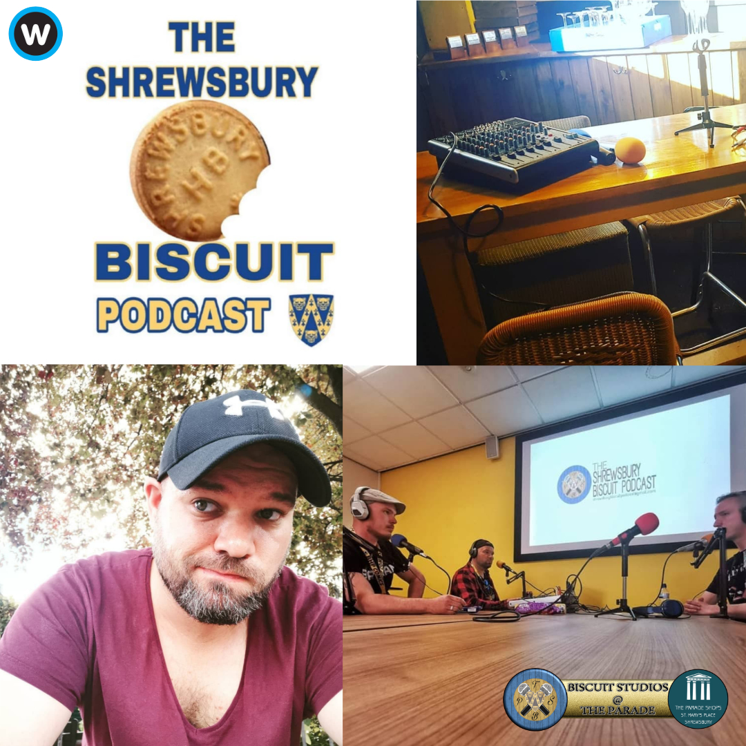 The Shrewsbury Biscuit Podcast: Alex Whiteley