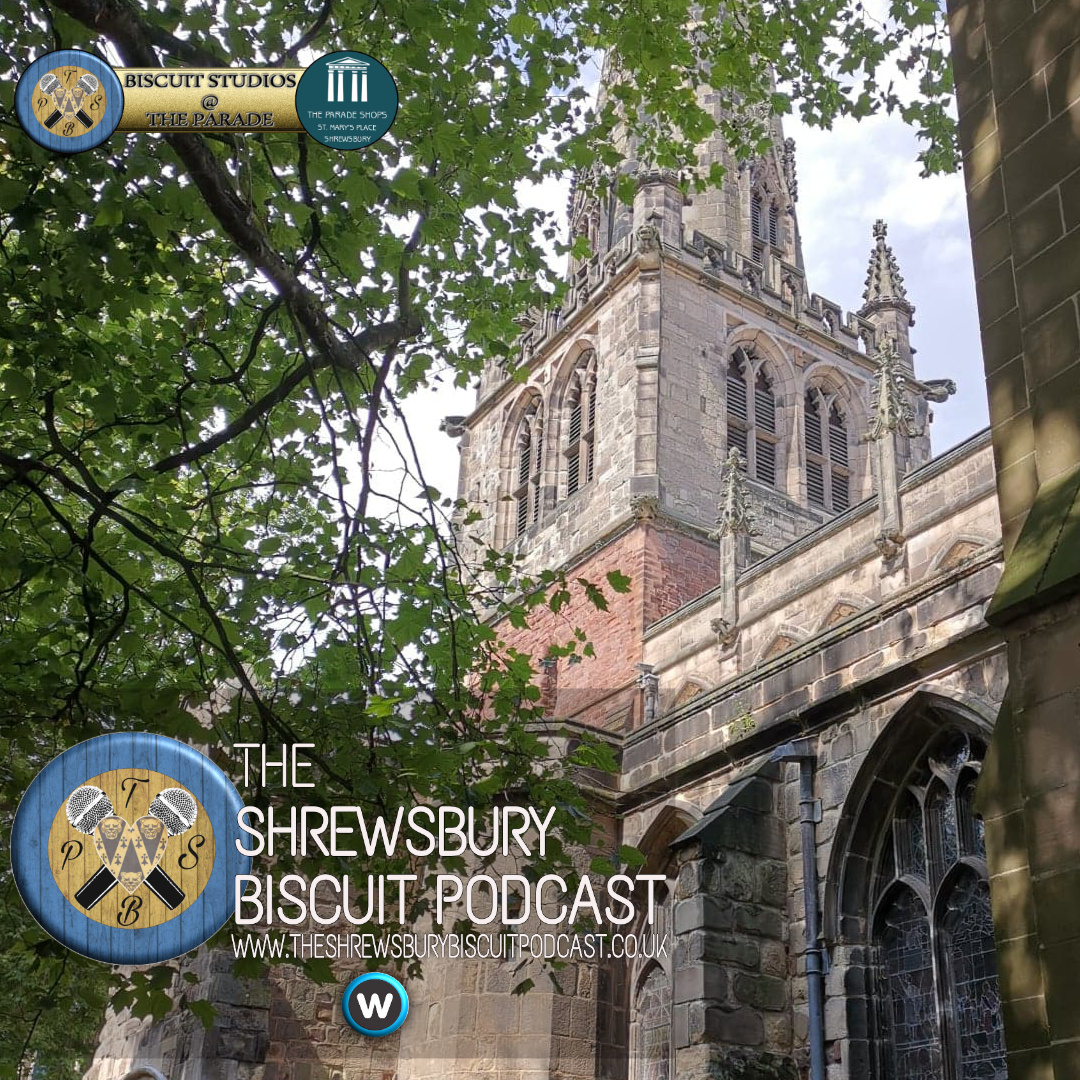 The Shrewsbury Biscuit Podcast: Shropshire Supports Refugees
