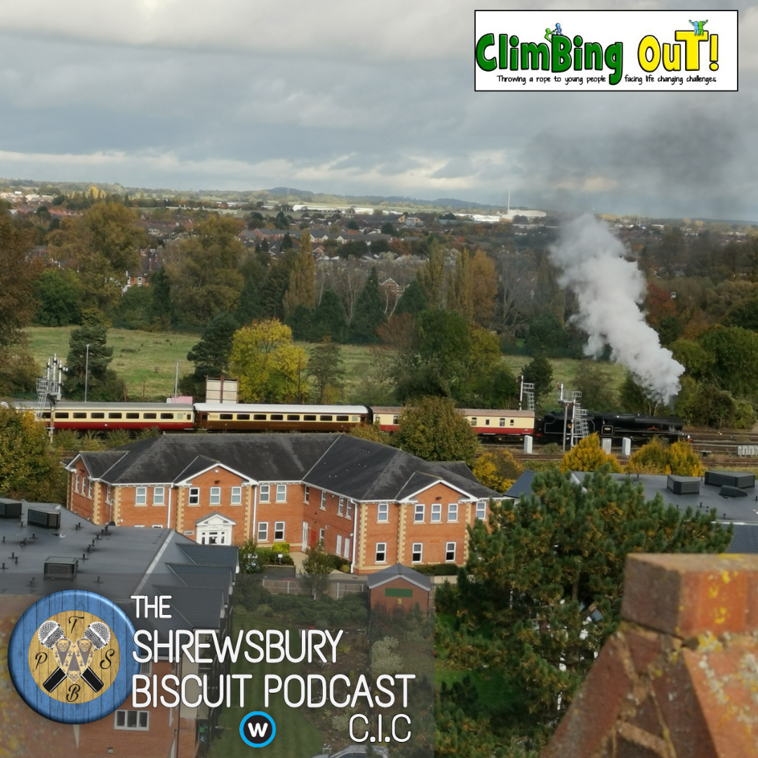 The Shrewsbury Biscuit Podcast: Kelda Wood – Climbing Out
