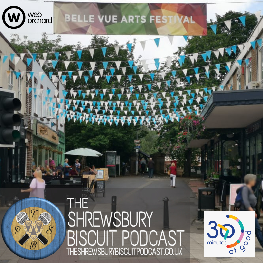 The Shrewsbury Biscuit Podcast: 30 Mins Of Good with Richard Smith